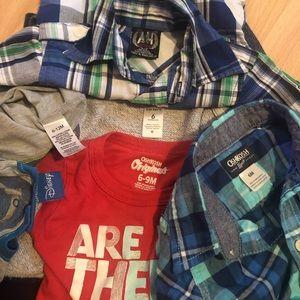 Six Month Clothing Bundle (9 items)